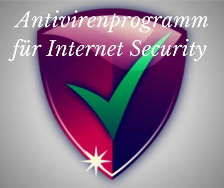 Antivirenprogramm für bessere Internet Security