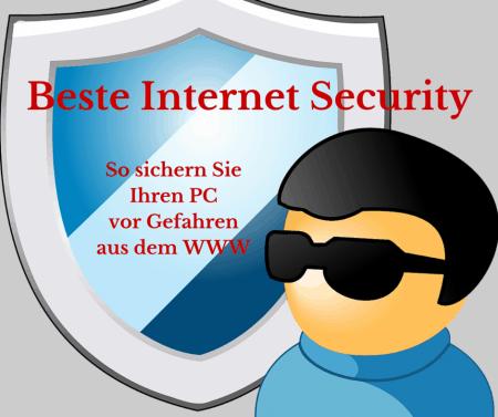 Beste Internet Security aus Antivirenprogramm, Firewall und sicheren Passwörten