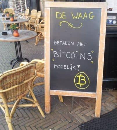 Cafe akzeptiert Bitcoins