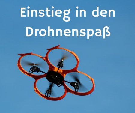 Quadrocopter mit Kamera für Einsteiger