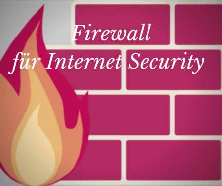 Firewall für mehr Sicherheit im privaten Netz