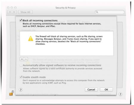 Firewall-Einstellungen Ihres Betriebssystems aktivieren