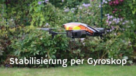 Stabilisierung mittels Gyroskop