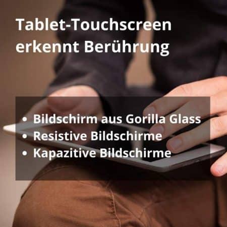 Unterschied zwischen kapazitivem und resistivem Touchscreen